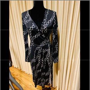 Poleci Beautiful Black Wrap Dress